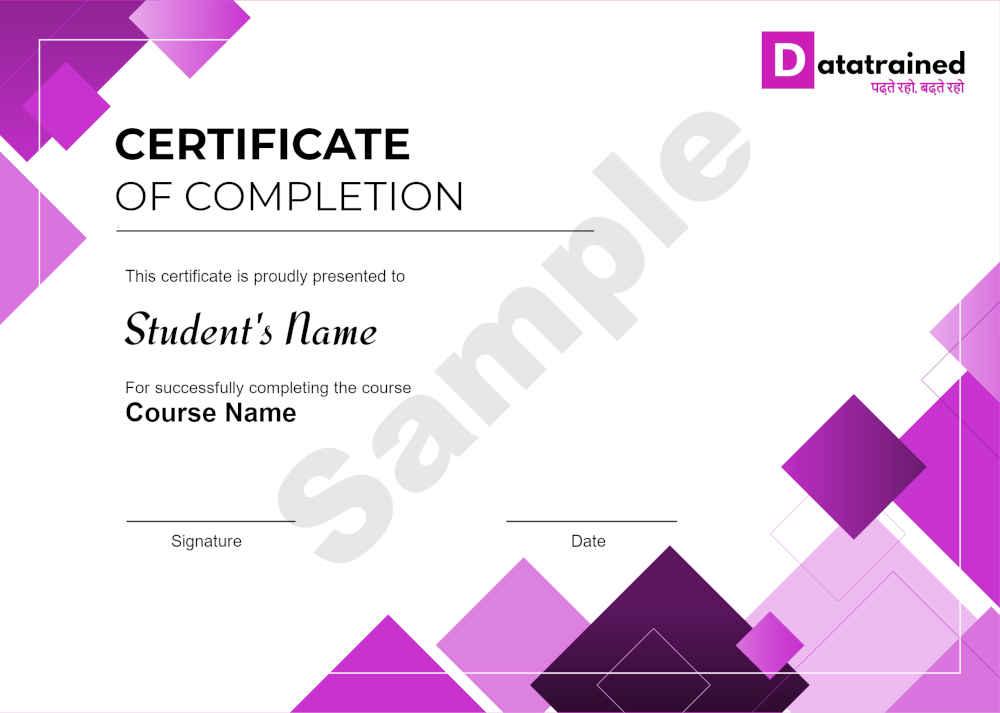 online certification degree