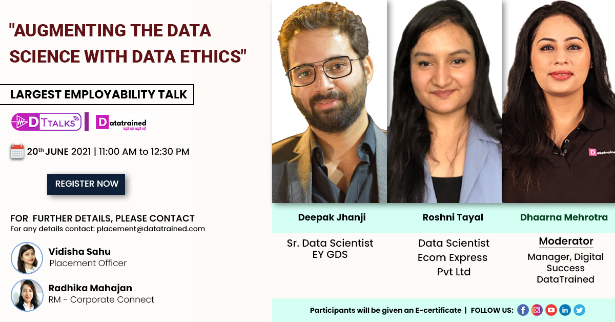 Augmenting the data Science with Data Ethics
