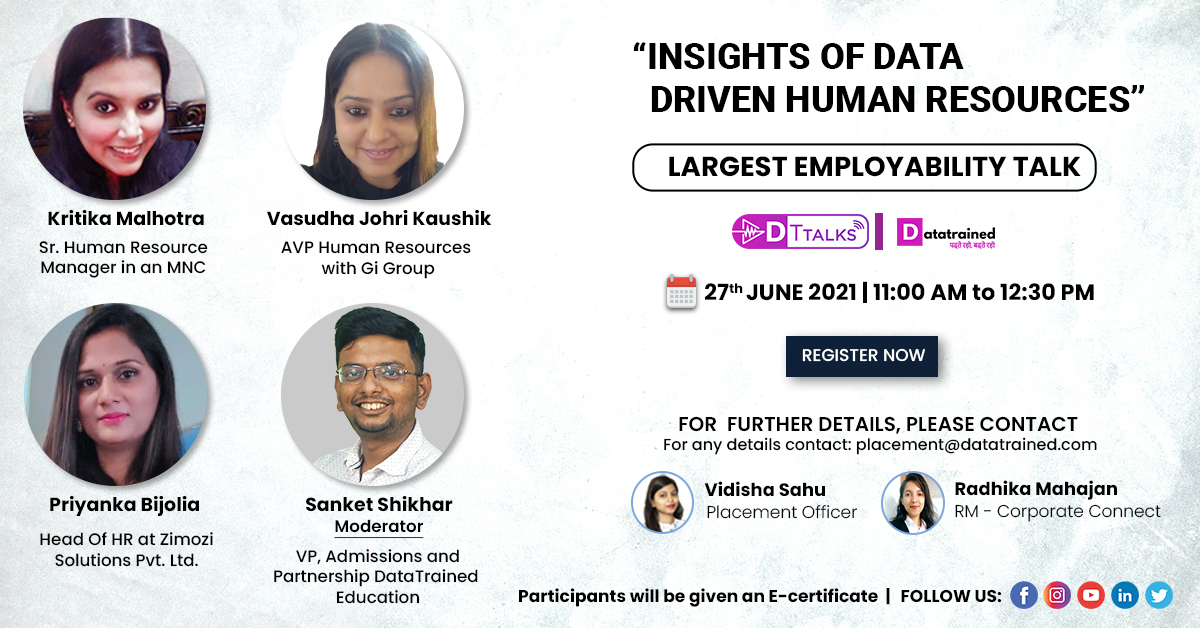 Insights of Data-driven Human resources
